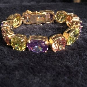 PARK LANE - RARE Multi Color Large Gem Bracelet